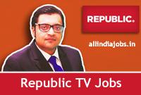 Republic TV Jobs