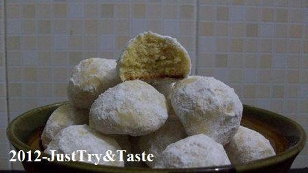 Mexican Wedding Cookies - Si putih cantik yang lumer di mulut