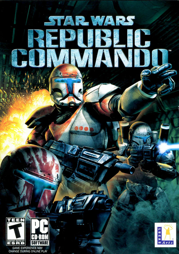 Star Wars Republic Commando Download Cover Free Game