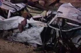بالفيديو...شاهد اللقطات الأولى من حادث الدهس المروع على الطريق الإقليمي