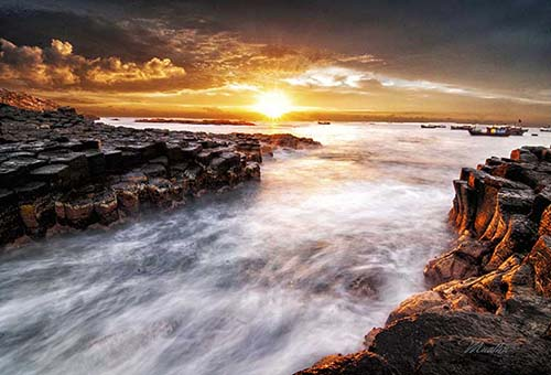 The beauty of Ganh Da Dia rapids