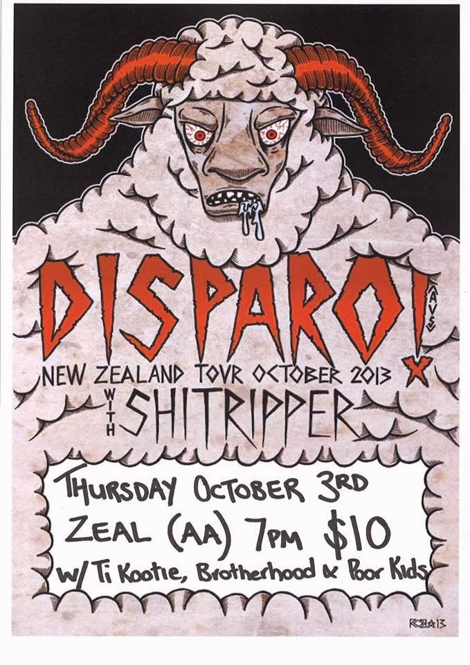 Disparo NZ Tour