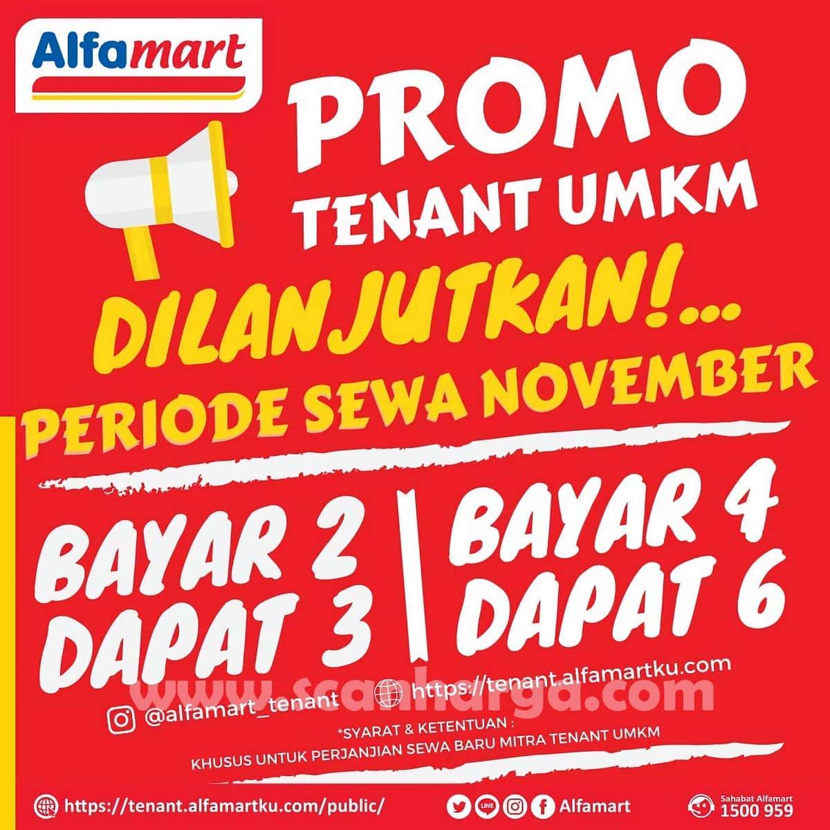 ALFAMART Promo TENANT UMKM - Bayar 2 Dapat 3   Bayar 4 Dapat 6