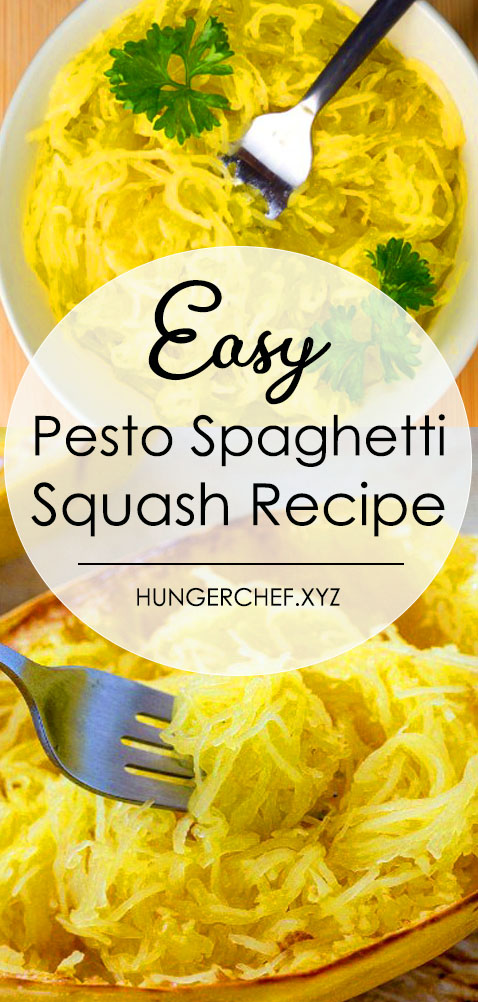 Here's how to cook pesto spaghetti squash if you want long pasta-like strands and spaghetti squash that isn't watery! Just cut the squash widthwise, into rings and roast it. Spagetti squash recipes, Spaghetti squash recipes healthy, Spaghetti squash recipes how to cook, Spaghetti squash recipes easy, Baked spaghetti squash, Vegan spaghetti squash recipes #howtocook #spaghettisquash #lowcarb #healthyrecipe #delicious #veganspaghettisquashrecipes