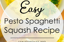 Easy Pesto Spaghetti Squash Recipe