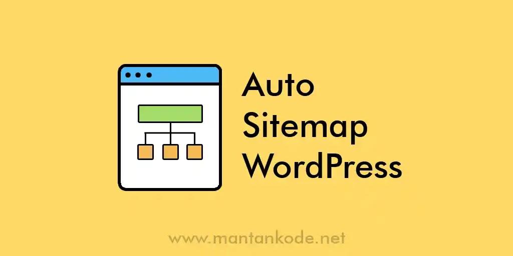 Cara Membuat sitemap otomatis di WordPress