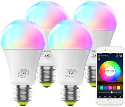 LED Smart WiFi Bulb No Hub Required Smart Light