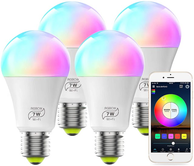 Best 5 LED Smart WiFi Bulb No Hub Required Smart Light Shopping Guide