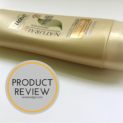 A Relaxed Gal reviews Suave Professionals Natural Infusion Moisturizing Conditioner with Macadamia Oil. | arelaxedgal.com