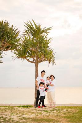 沖縄 マタニティフォト 海
