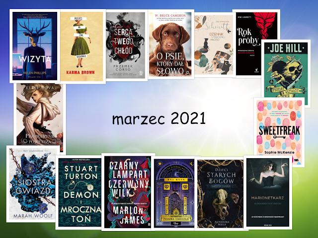 Zapowiedzi wydawnicze – marzec 2021