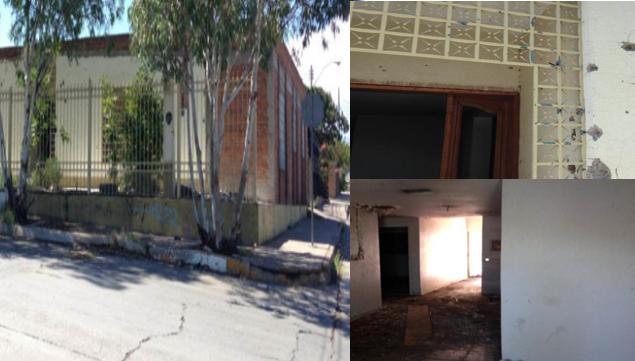 """La """"Casa del cura narco"""" unos dicen que vive un sacerdote otros que a """"El Viceroy"""" pero con tanquetas, camiones y lanzagranadas fue atacada por el ejercito"""