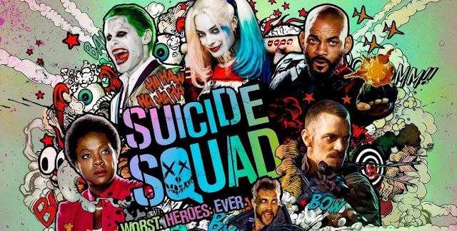 """Vídeo musical de """"Esquadrão Suicida"""" revela cenas inéditas do filme + Pôsteres inéditos"""