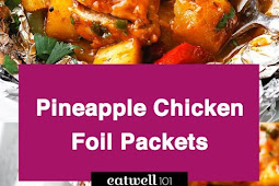 Pineapple BBQ Chicken Foil Packets in Oven
