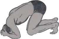 Shirshasan or Head stand pose - Steps and Benefits Step 1