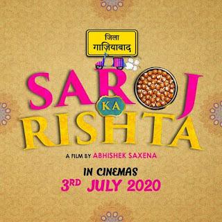 Saroj Ka Rishta First Look Poster