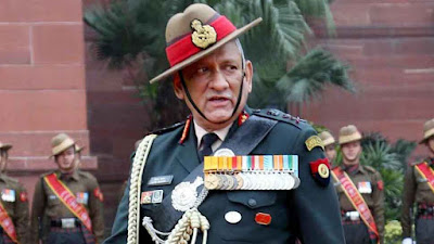 Chief of Defense Staff Bipin Rawat Making a clear reference to Pakistan