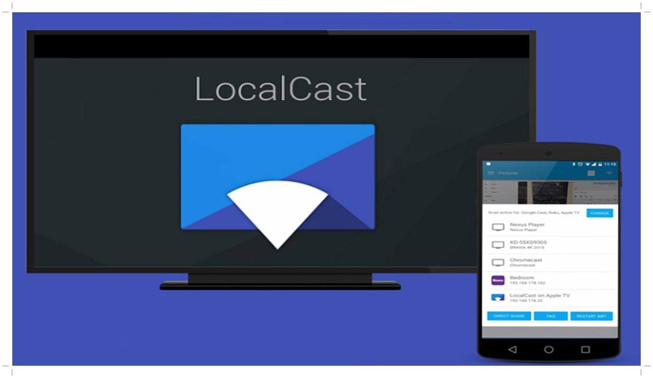 How to Connect Phone to Smart TV with Stream with a DLNA App