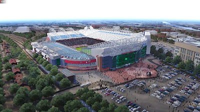 Aerial View Old Trafford PES 2020