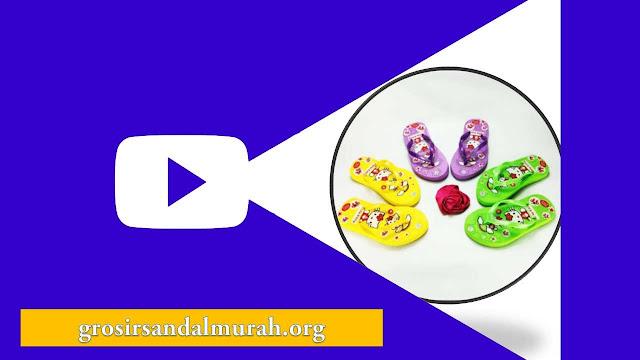 grosirsandalmurah.org - sandal Anak - Sandal Sablon HK Anak