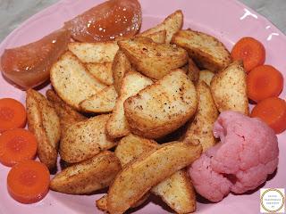 Cartofi wedges cu muraturi reteta,