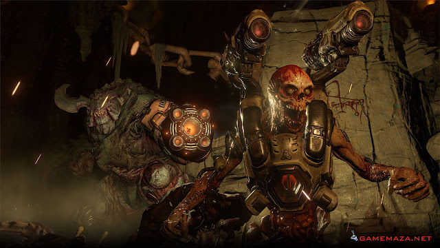 Doom 2016 Gameplay Screenshot 1