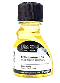 winsor refined linseed oil 75 ml