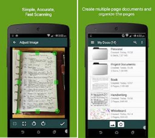 تطبيق Clear Scanner PRO apk النسخة المدفوعة مجانا