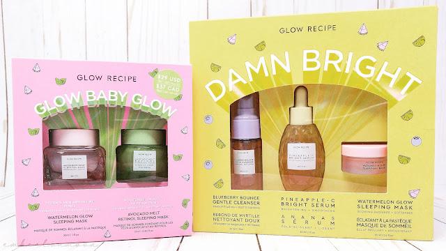 Skincare: Glow Recipe & Saturday Skin