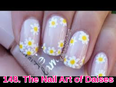 The Nail Art of Daises