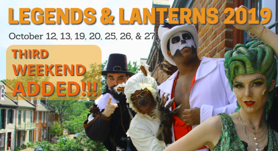 Legends & Lanterns Annual Special Event St. Charles 2019