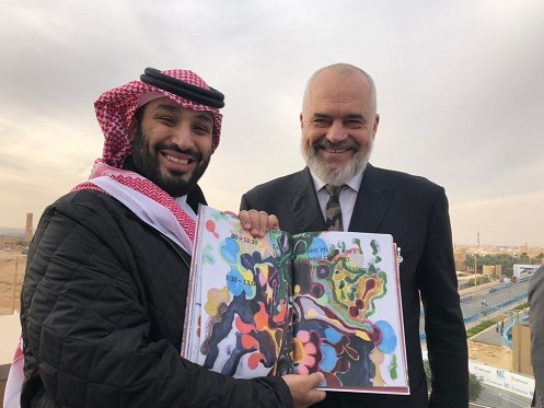 Albania lifts visas with Saudi Arabia following Rama's visit to Riyadh