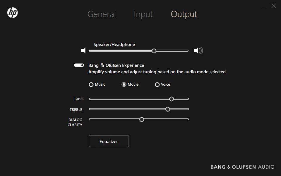 Bang & Olufsen - Output
