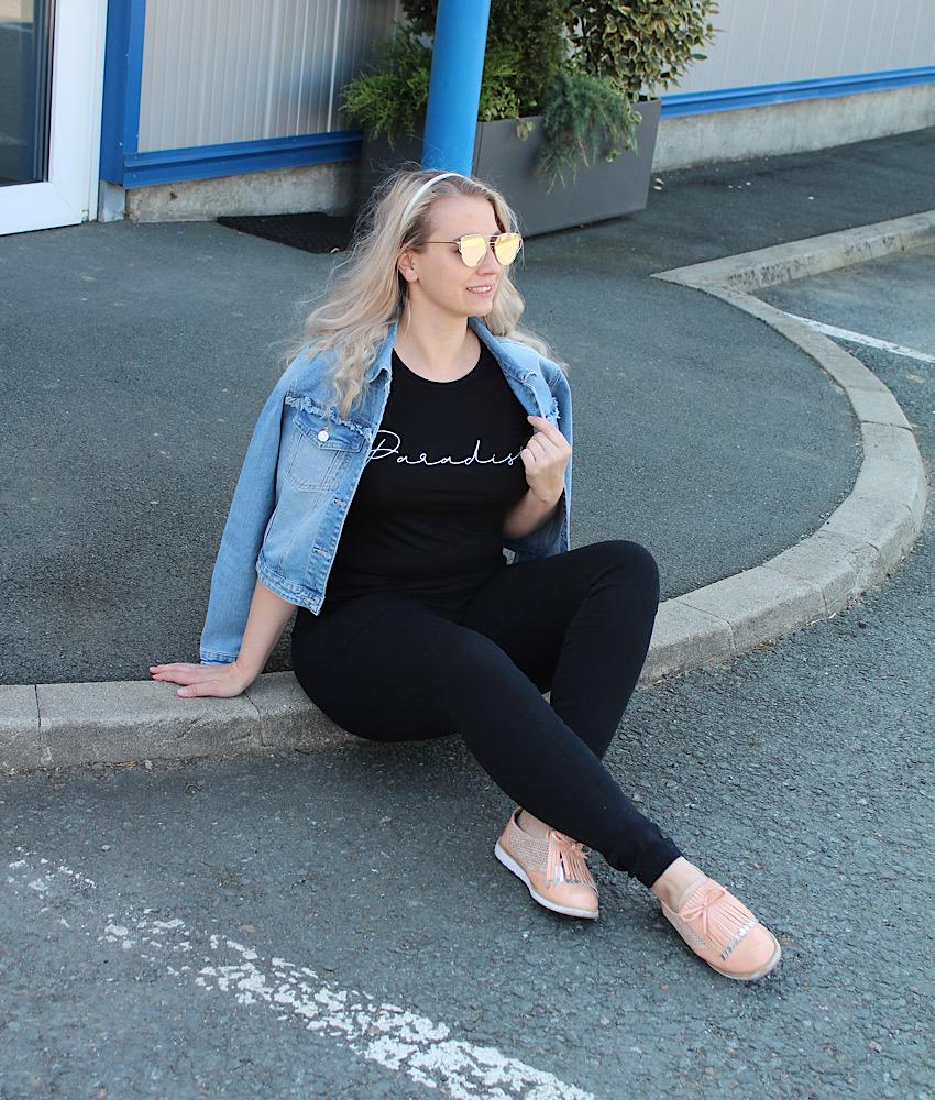 T-Shirt Femme Luxe Finery