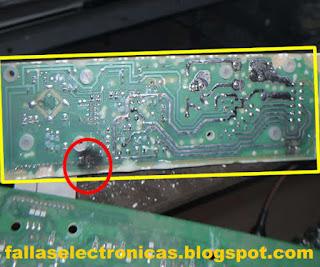 circuito electronico de lavadora electrolux