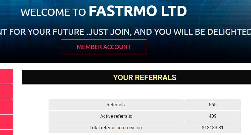 Активность инвесторов в Fastrmo