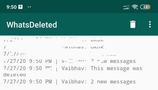أسترجاع محادثات ورسائل واتساب Whatsapp وقرأتها