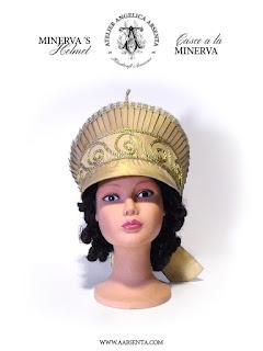 Minerva helmet / Casco a la Minerva