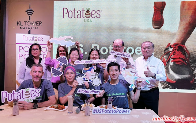 U.S Potatoes, Real Food, Real Performance, 2019 Campaign Launch, Menara Kuala Lumpur, KL Tower Run, fitness, food, Potatoes USA, My Potatoes USA,