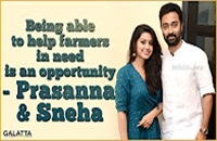 Being able to help farmers in need is an opportunity – Prasanna & Sneha
