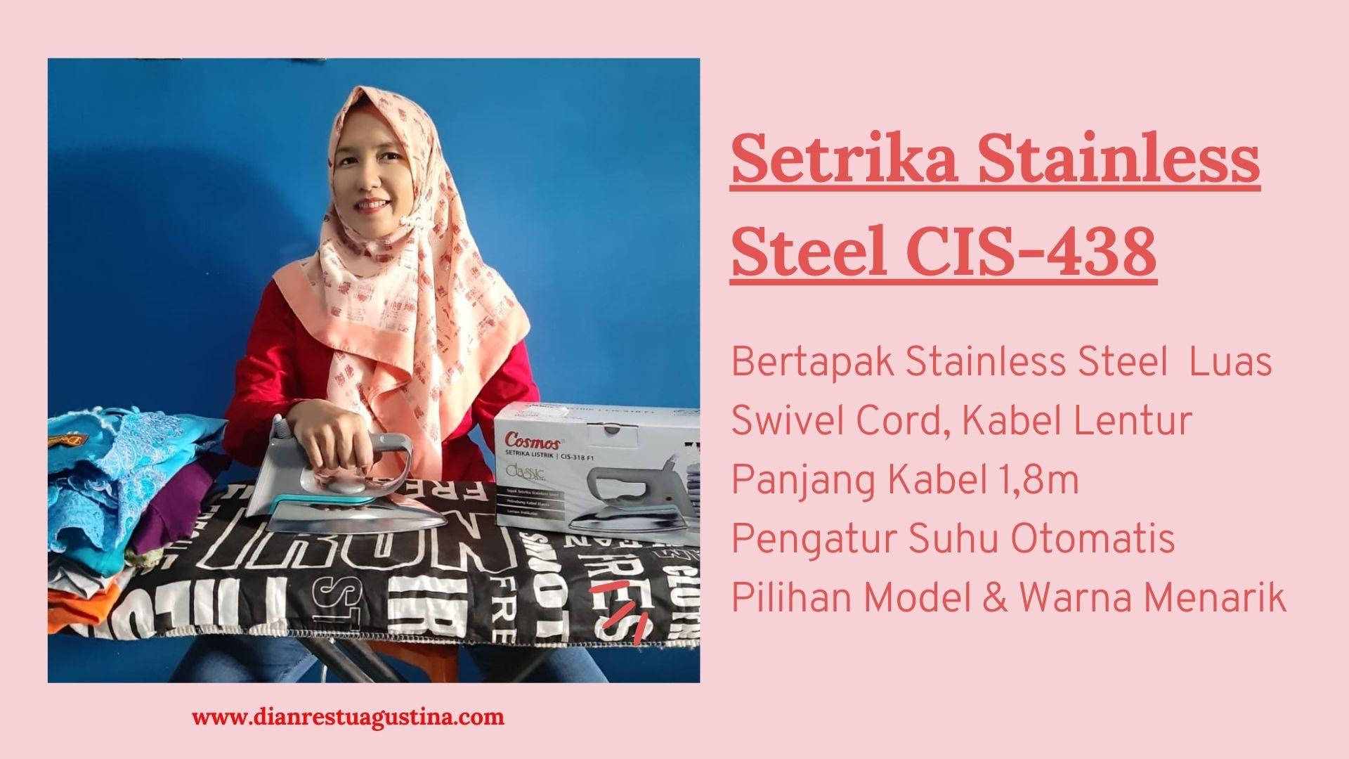 Setrika Stainless Steel Cosmos