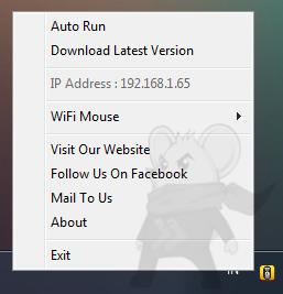 Cara Membuat Hp Android sebagai Mouse, Mouse server