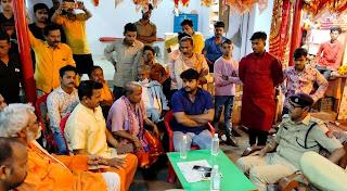 चैत्र नवरात्रि में दर्शनार्थियों के मन्दिर में प्रवेश पर लगी रोक   #NayaSaberaNetwork