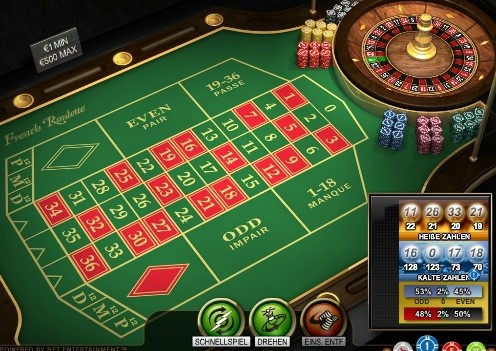 meja french roulette