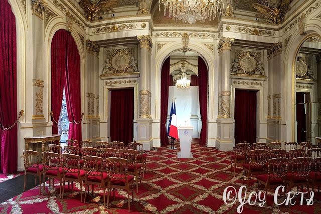 Conférence de presse , Palais de l'Elysée, Paris