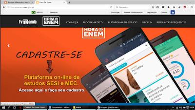 http://tvescola.mec.gov.br/tve/serie/hora-do-enem/conheca