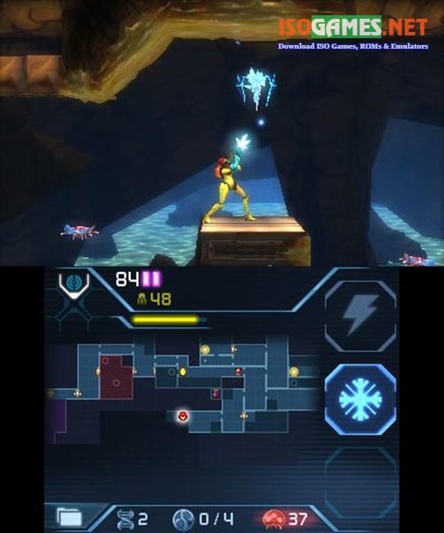 Metroid: Samus Returns 3DS ROM