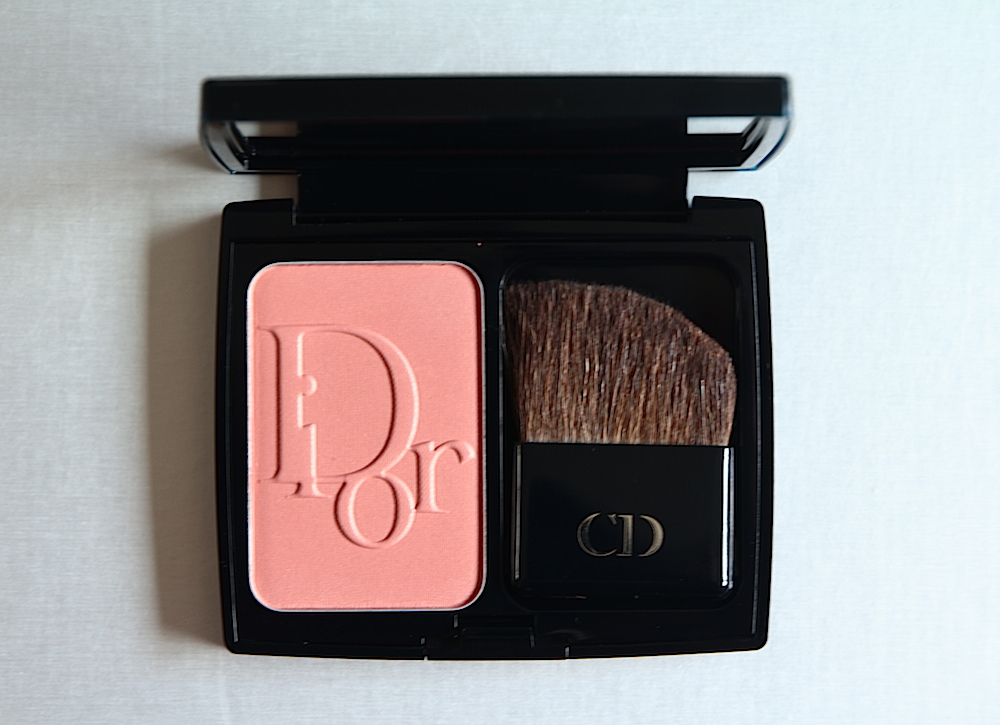 diorblush blush fard à joues 533 gold addict test avis swatch