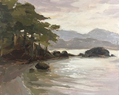 #138 'Lake Windermere' 8×10″