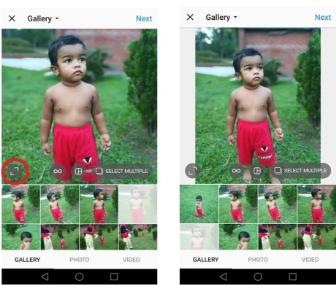 Cara Upload Foto Full Size di Instagram Tanpa Cropping 4